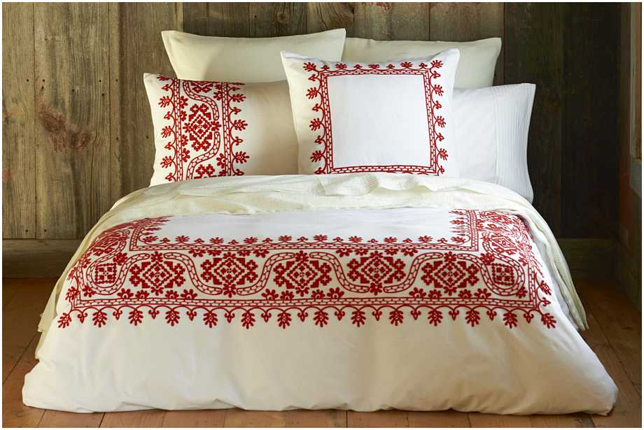 red-embroidered-duvet-cover