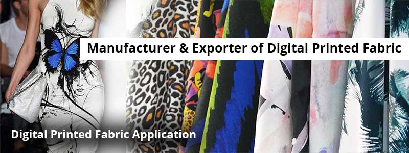 Digital Printed Fabric Application
