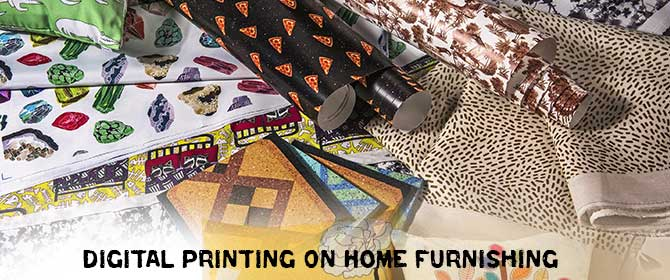 Digital Printing On Home Furnishing