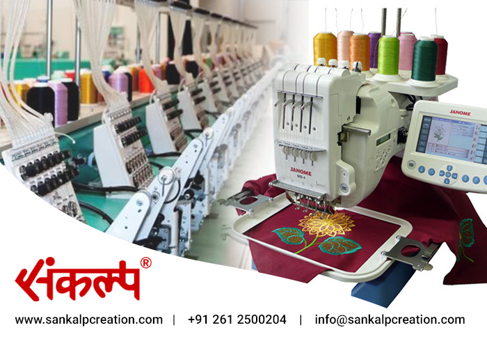 Embroidery Services in Surat