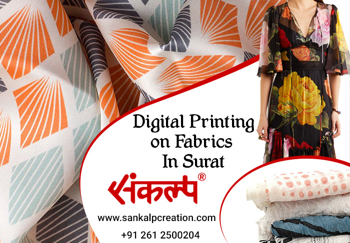 Digital Printing on Fabric in Surat