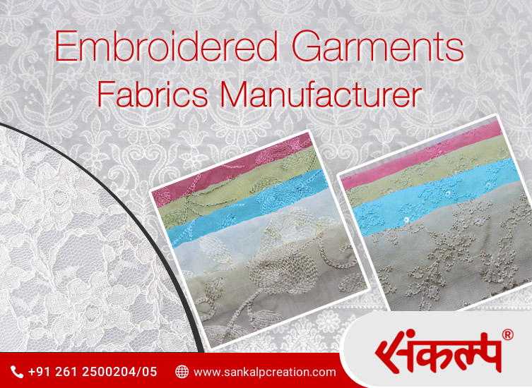 Embroidered Fabrics Manufacturer