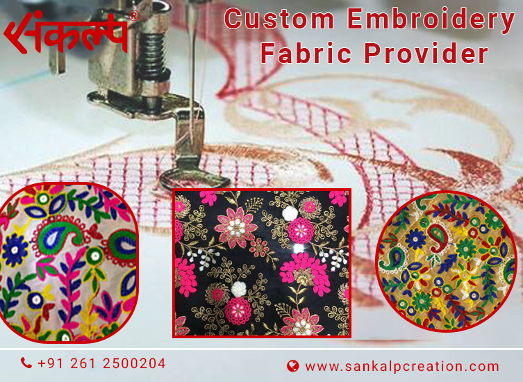 Custom Embroidery Fabric Provider