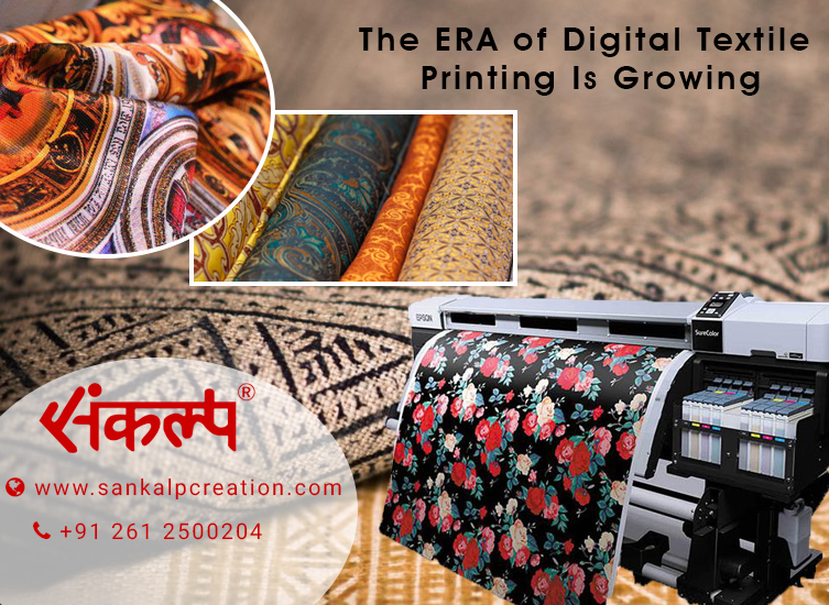 The ERA of Digital Textile Printing Is Growing