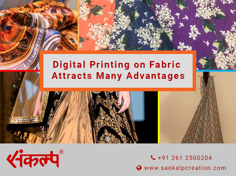 Digital Printing on Fabric Attracts Many Advantages